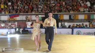 Jefferson Benjumea y Adriana Avila en los Juegos Mundiales Cali 2013