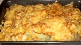 картошка по-французски с мясом в духовке