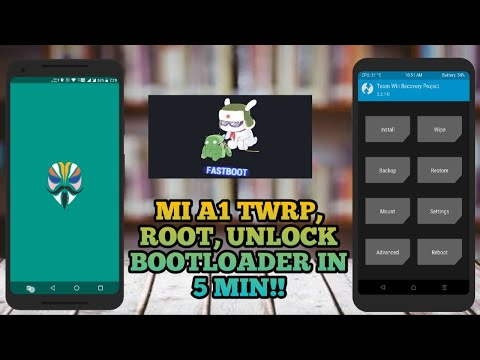 root mi a1 magisk and unlock bootloader mi a1 oreo install twrp mi a1 oreo permanently in 5 minutes!