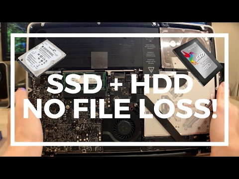 MacBook Pro SSD Upgrade Without Loss Of Files