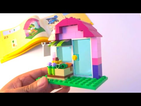 How to build a Lego House - Lego Classic 10692 (2015) - YouTube