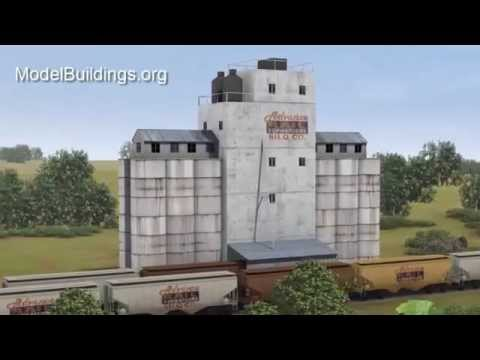 Scale Model Industrial Silos Plans For Model Railroads