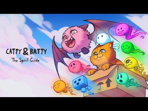 Кооперативная головоломка Catty & Batty: The Spirit Guide теперь доступна на Xbox