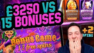 £3250 Vs 15 Bonuses - Stream Highlights!