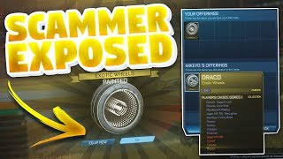 Rocket League Scammer Gets Exposed *Tries To Scam Me*