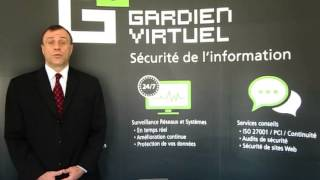Présentation du Service de Surveillance Réseau et Système par Philippe Jorajuria