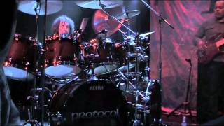 Simon Phillips Protocol III - Enigma + Drum Solo LIVE at Harmonie 2015