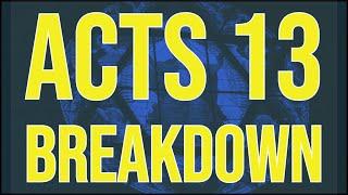 "Acts 13 Breakdown | Vocab Malone v 2 ""Hebrew Israelites"""