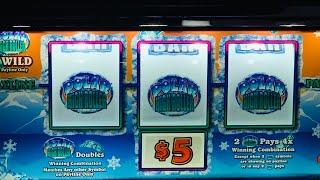 CASINO NIGHT! $50,000 JACKPOT! MAX BET POLAR HIGH ROLLER- $1, $2 & $5 MACHINES