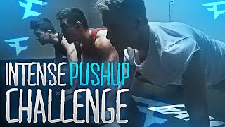 INTENSE PUSHUP CHALLENGE!