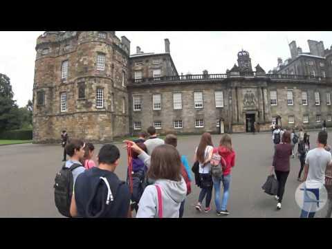 The Palace of Holyroodhouse, Edinburgh, Scotland
