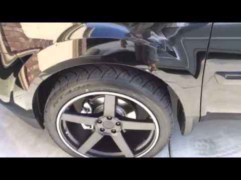 Honda pilot on 22 x 10 - YouTube