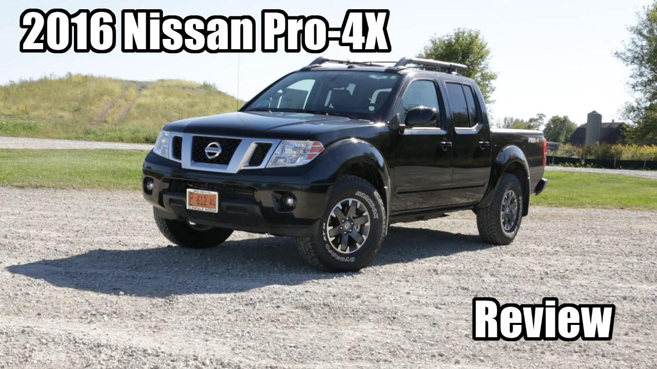 Nissan Frontier Pro 4x >> 2016 Nissan Frontier PRO 4X Review - Most Affordable Off