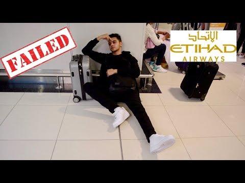 Etihad Airways SHAME On YOU!!