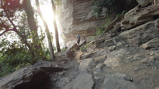 Hiking The Mountain Of Mercy Near Banko - Ghana - Africa