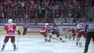 Финал МХЛ 6 матч МХК Спартак - Красная Армия 1:2(OT)