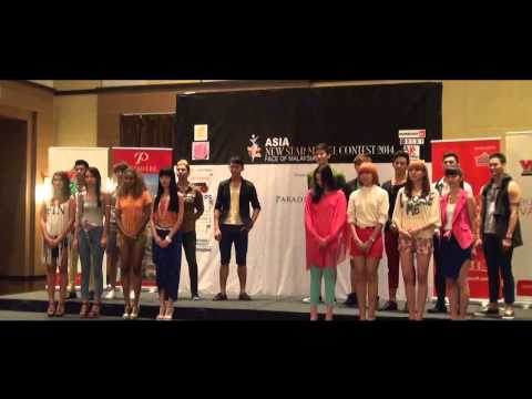 Asia New Star Model Contest 2014 Face of Malaysia - Catwalk Challenge ( Episode 6 )