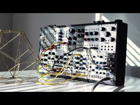 Generative self-playing modular synthesizer patch