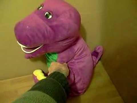 Talking Barney Stuffed Toy Youtube