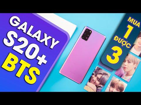 Sốc khi mua Samsung Galaxy S20+ BTS: Mua 1 được 3