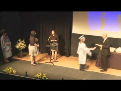 2011 Columbia School of the Arts Graduation: Awarding Degrees