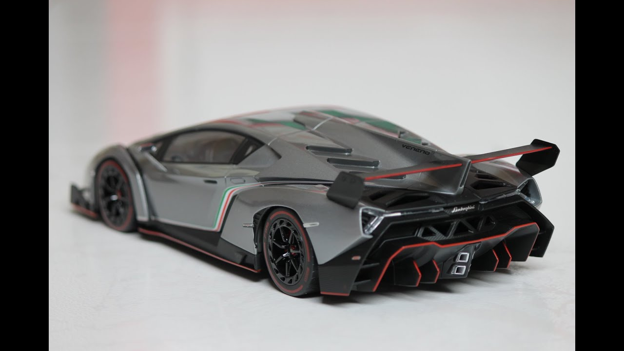 lamborghini veneno black and orange. review 118 lamborghini veneno by kyosho ousia grey with red trim youtube black and orange l
