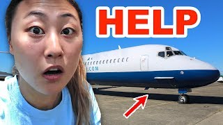 I GOT ON THE WRONG FLIGHT!! (HELP)