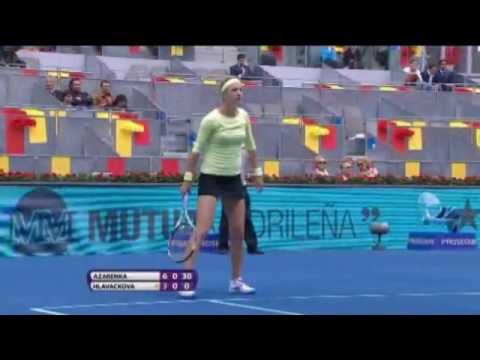 Victoria Azarenka Earns Madrid Open Hot Shot