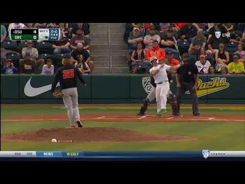Oregon State Beavers - Fehmel leads Beavers to a 4-1 Civil War win over Ducks!