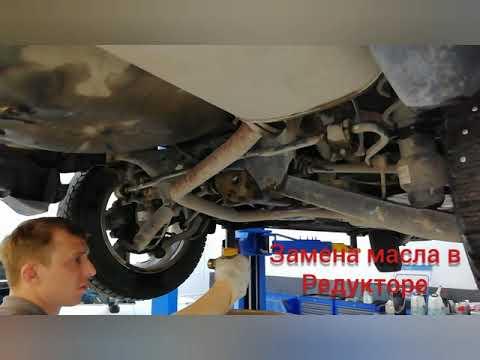 Subaru Forester SJ Замена масла переднего дефферинциала, в редуктор и в CVT