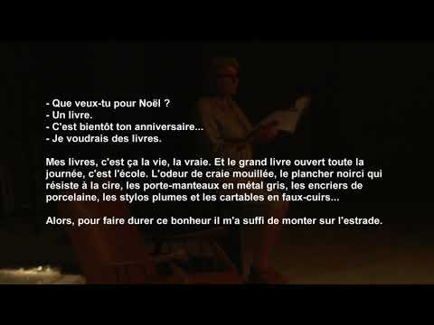 Théâtre La Boutonnière, Cahier de Textes de Béatrice Mandopoulos