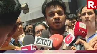 WATCH: Protests Outside Nair Hospital Demanding Justice For Dr. Payal Tadvi