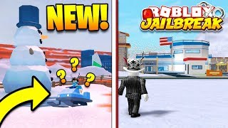 JAILBREAK WINTER UPDATE FIRST LOOK - 2 New Vehicles, New Snow Map, NUKES!? | Roblox Jailbreak Update
