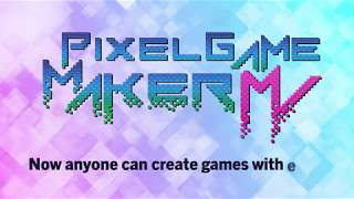 Creating Games with Pixel Game Maker MV