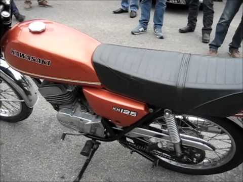 Kawasaki Kh 125 Youtube