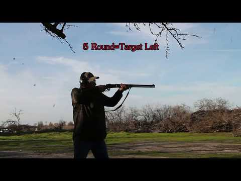 Out Of The Box Mossberg 464 Lever Action Rifle: