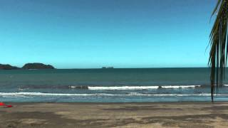 beach at Playa Potrero, Costa Rica December 2013 (extended version)