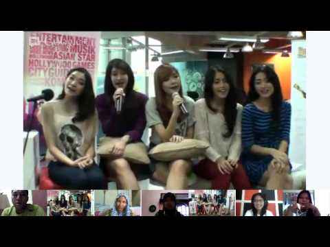 Hangout On Air with PRINCESS