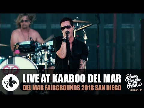 KAABOO DEL MAR FAIRGROUNDS 2018 NORTH AMERICAN TOUR STONE TEMPLE PILOTS BEST HITS