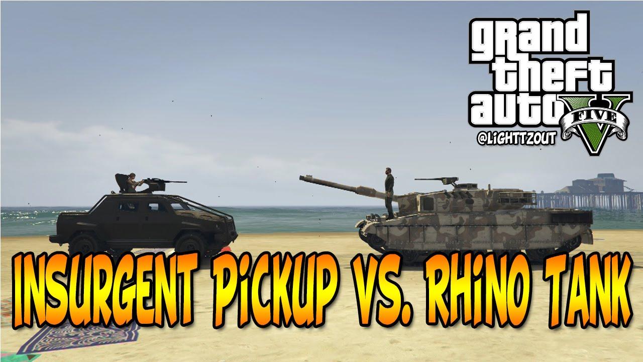 how to get a rhino tank in gta 5