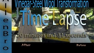 How To Make Wood Look Rustic: Time Lapse Transformation