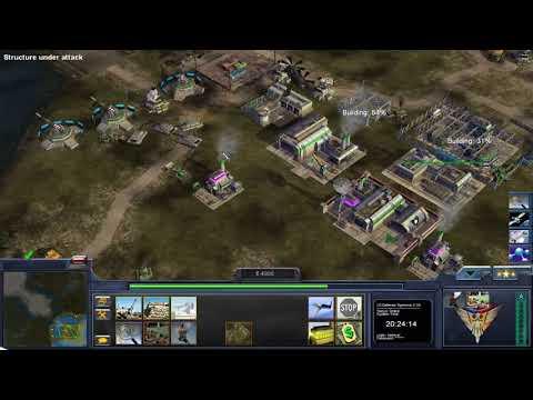 C&C Condition Zero: Advanced Solar Weaponry vs Red Army & Heavy Assault Generals