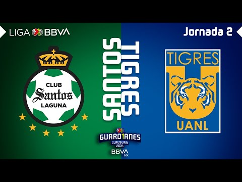 Santos Laguna U.A.N.L. Tigres Goals And Highlights