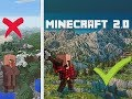 What if Minecraft Had A HUGE Makeover?