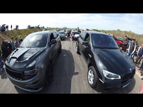 SRT 8 ЖЕСТКО ОТОМСТИЛА ЗА СВОЕ ПОРАЖЕНИЕ  BMW Х5! РЕВАНШ