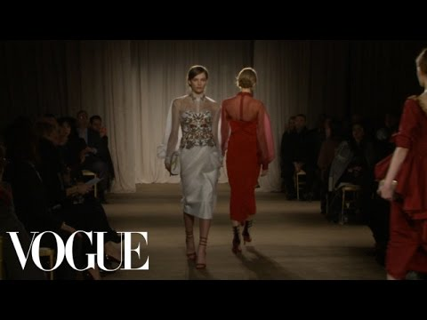 Marchesa Ready to Wear Fall 2013 Vogue Fashion Week Runway Show