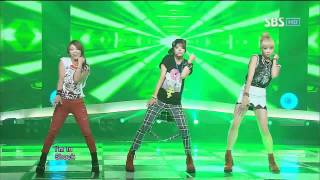 f (x) [Electric Shock] @SBS Inkigayo Popular song 20120708