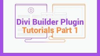 Divi Builder Plugin Tutorials Part 1 Build Any WordPress Website thumbnail