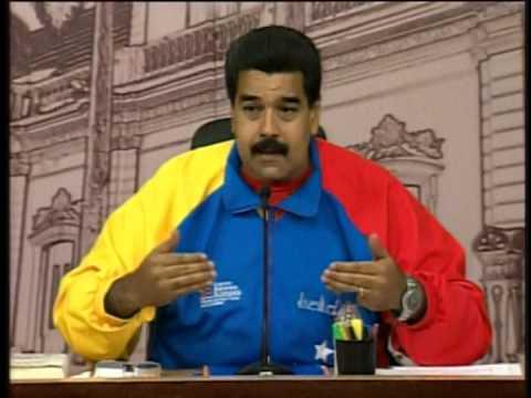 Nicolás Maduro se dirige a Leopoldo López