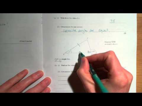 Edexcel GCSE Mathematics June 2010 Foundation Paper 1